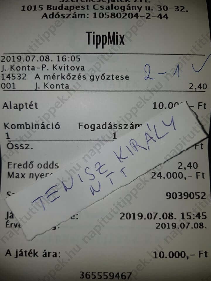 Kőkemény Tippmix tippek: Tippmix tippek, mérkőzés elemzések, statisztikai adatok. Napi ingyenes tippek. Csatlakozz Magyarország legsikeresebb sportfogadó csapatához!