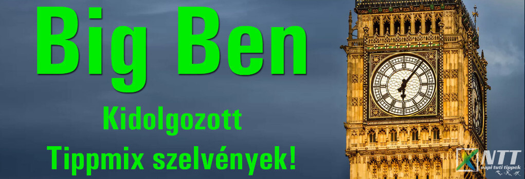 Big Ben - Tippmix szelvényötlet