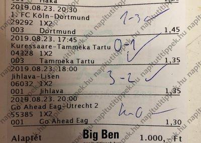 Big Ben - Tippmix tippek 52 - Tippmix tippek
