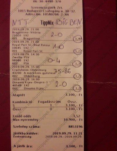 Tagok küldték 71 - Tippmix tippek