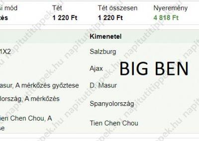 Big Ben - Tippmix tippek 11 - Tippmix tippek