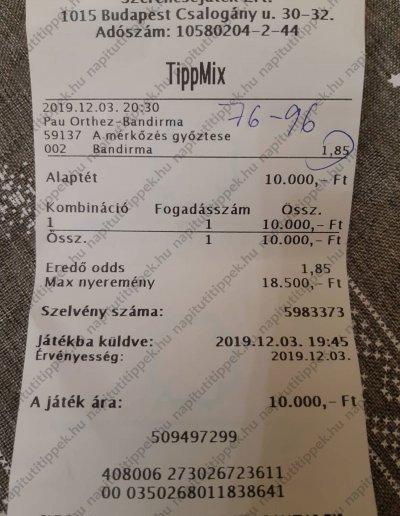 Tagok küldték 33 - Tippmix tippek