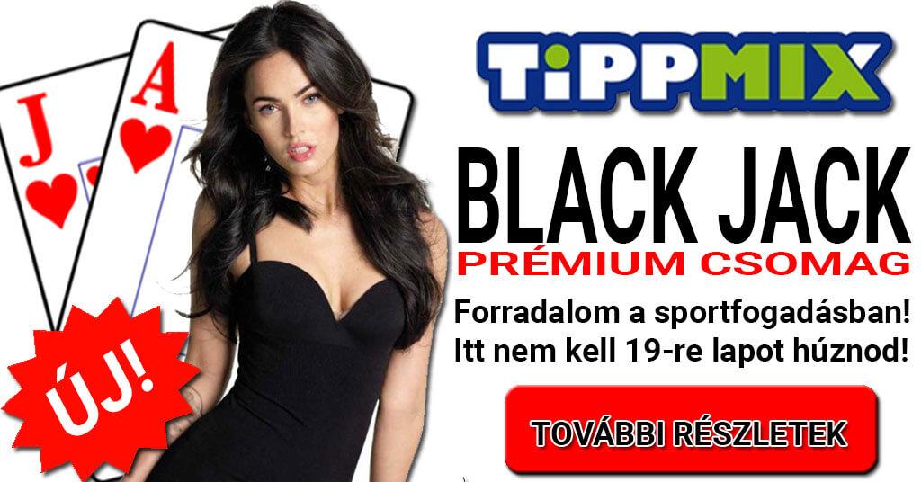 Tippmix: Már csak 7 nap és indul a BLACK JACK második turnusa!